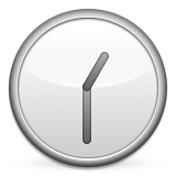 Clock Face One-thirty Emoji (Apple/iOS Version)