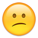 Confused Face Emoji (Apple/iOS Version)
