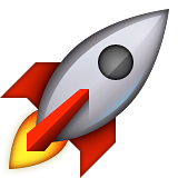 Rocket Emoji (Apple/iOS Version)