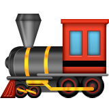 Steam Locomotive Emoji (Apple/iOS Version)