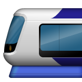 Light Rail Emoji (Apple/iOS Version)