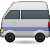 Minibus Emoji (Apple/iOS Version)