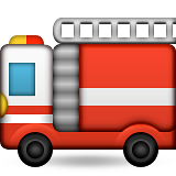Fire Engine Emoji (Apple/iOS Version)