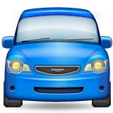 Oncoming Automobile Emoji (Apple/iOS Version)