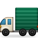Articulated Lorry Emoji (Apple/iOS Version)