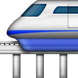 Monorail Emoji (Apple/iOS Version)