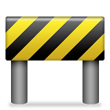Construction Sign Emoji (Apple/iOS Version)