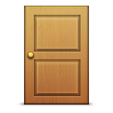 Door Emoji (Apple/iOS Version)