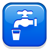 Potable Water Symbol Emoji (Apple/iOS Version)