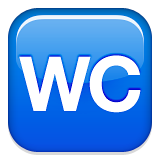 Water Closet Emoji (Apple/iOS Version)