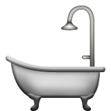 Bathtub Emoji (Apple/iOS Version)