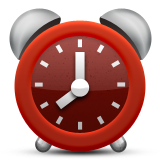 Alarm Clock Emoji (Apple/iOS Version)