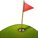 Flag In Hole Emoji (Apple/iOS Version)