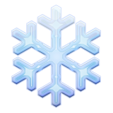 Snowflake Emoji (Apple/iOS Version)
