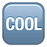 Squared Cool Emoji (Apple/iOS Version)