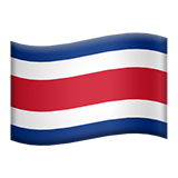 Flag For Costa Rica Emoji (Apple/iOS Version)