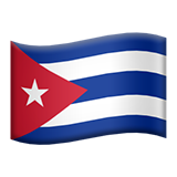 Flag For Cuba Emoji (Apple/iOS Version)