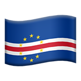 Flag For Cape Verde Emoji (Apple/iOS Version)