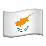 Flag For Cyprus Emoji (Apple/iOS Version)