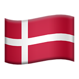 Flag For Denmark Emoji (Apple/iOS Version)