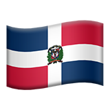 Flag For Dominican Republic Emoji (Apple/iOS Version)