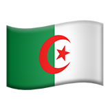 Flag For Algeria Emoji (Apple/iOS Version)
