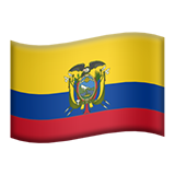 Flag For Ecuador Emoji (Apple/iOS Version)