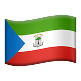 Flag For Equatorial Guinea Emoji (Apple/iOS Version)