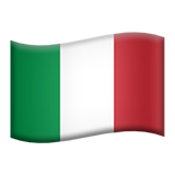 Flag For Italy Emoji (Apple/iOS Version)