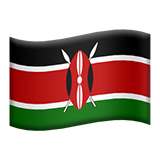 Flag For Kenya Emoji (Apple/iOS Version)