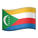 Flag For Comoros Emoji (Apple/iOS Version)