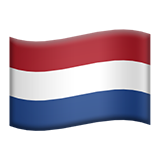 Flag For Netherlands Emoji (Apple/iOS Version)