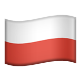 Flag For Poland Emoji (Apple/iOS Version)