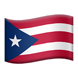 Flag For Puerto Rico Emoji (Apple/iOS Version)