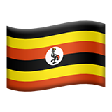 Flag For Uganda Emoji (Apple/iOS Version)