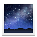 Milky Way Emoji (Apple/iOS Version)