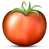 Tomato Emoji (Apple/iOS Version)