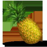 pineapple emoji png. pineapple emoji (apple/ios version) png e