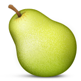 Pear Emoji (Apple/iOS Version)