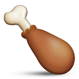 Poultry Leg Emoji (Apple/iOS Version)