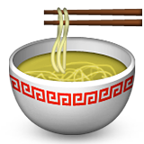 Steaming Bowl Emoji (Apple/iOS Version)