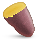 Roasted Sweet Potato Emoji (Apple/iOS Version)