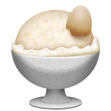 Ice Cream Emoji (Apple/iOS Version)