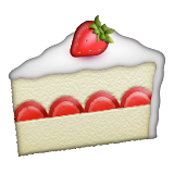 Shortcake Emoji (Apple/iOS Version)