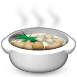Pot Of Food Emoji (Apple/iOS Version)