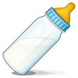 Baby Bottle Emoji (Apple/iOS Version)