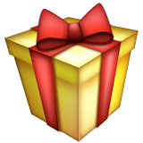 Wrapped Present Emoji (Apple/iOS Version)