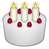 Cake Emoji Art : Birthday Cake Emoji - Copy & Paste - EmojiBase!