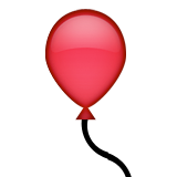 Balloon Emoji  |Red Balloon Emoji