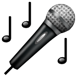 Microphone Emoji (Apple/iOS Version)